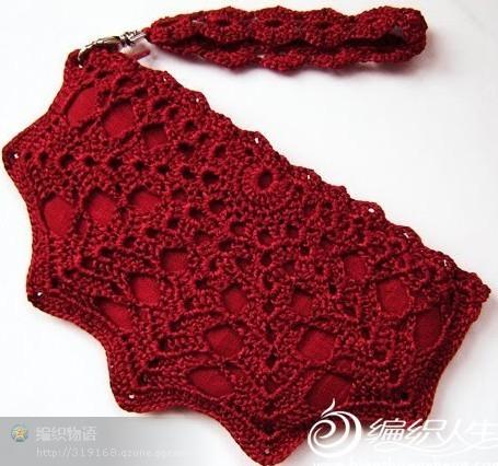 Patron crochet bolso de mano patrones crochet for Manualidades de ganchillo bolsos