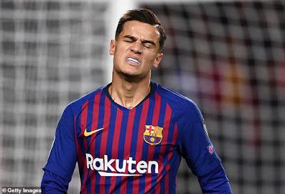 Barca gõ cửa khắp nơi tìm người rước Coutinho