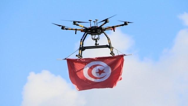 """إثر تفشي السلالة البريطانية في تونس: طائرة """"درون"""" لمراقبة قرار عزل هذه المنطقة"""