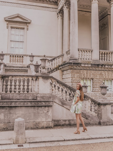 Chiswick House London Fashion Blog Photoshoot