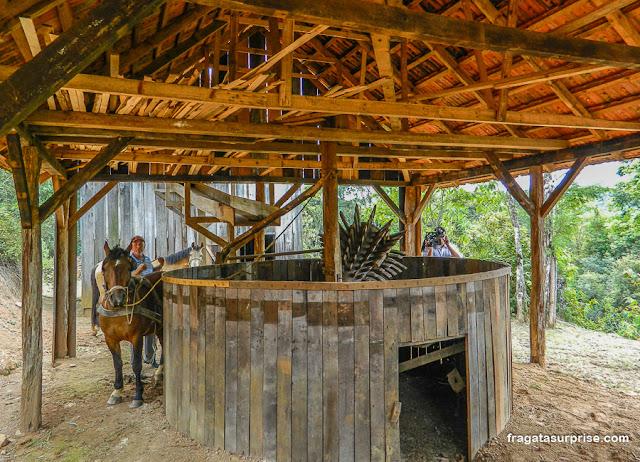Moenda de mate, Parque Histórico do Iguassu, União da Vitória, Paraná
