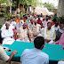 दुर्गा पूजा को लेकर दावथ थाना परिसर में हुई शांति समिति की बैठक