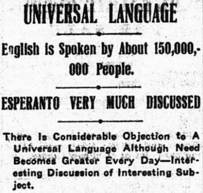 Imp of the Diverse: Esperanto, Diplomacy, and Duplicity