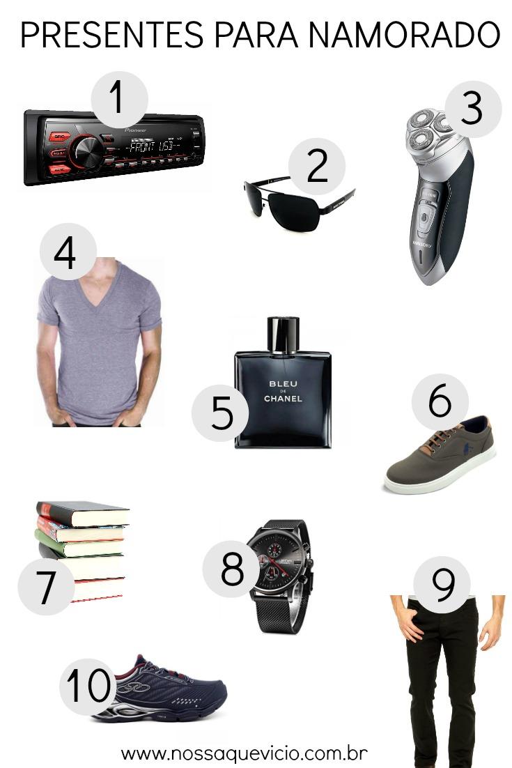 5 presentes criativos para seu namorado + 10 sugestões para acompanhar
