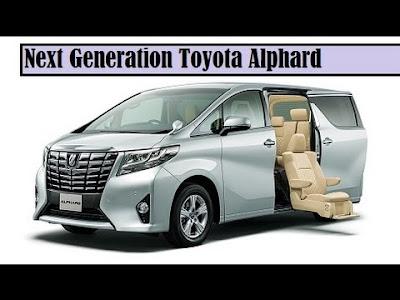 New 2016 Toyota Alphard Luxury MPV image