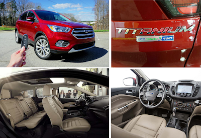 Ford Escape Titanium Features