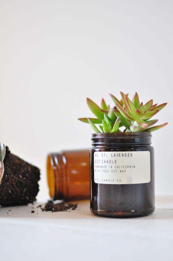 Las mejores maneras de reciclar los tarros de las velas