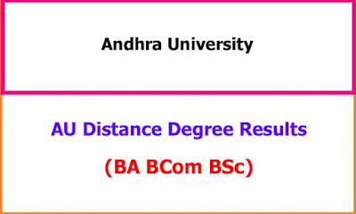 AU Distance Degree Exam Results