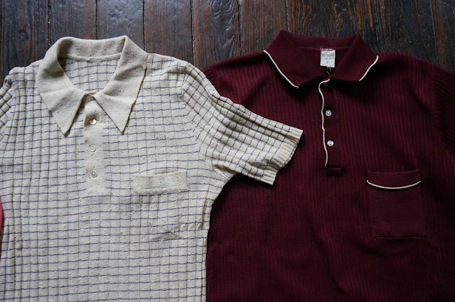 60s 70s italian sweater knit polo  1960s 1970s mod vintage annees 60 70