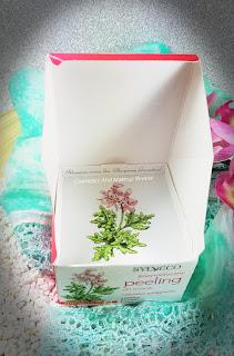 Sylveco - Peeling enzimatico viso - particolare del packaging