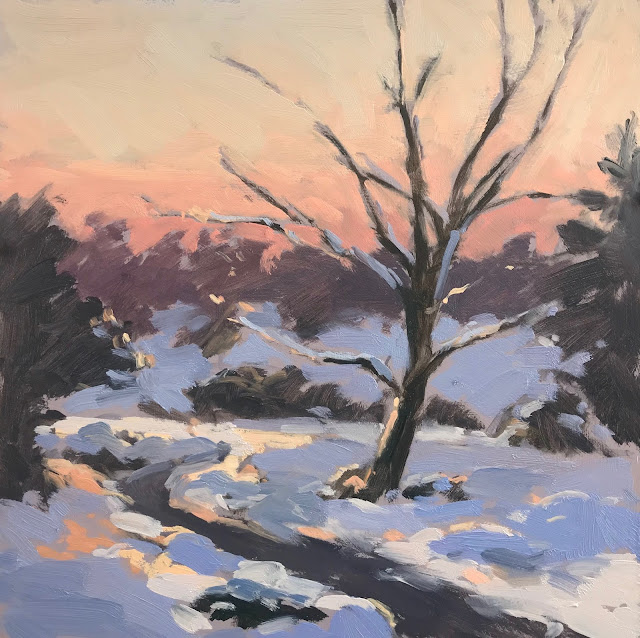 #279 'Sunrise, Devils Punch Bowl' 10×10″