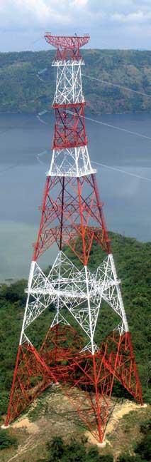 Instalaciones eléctricas residenciales - Torre de línea de transmisión