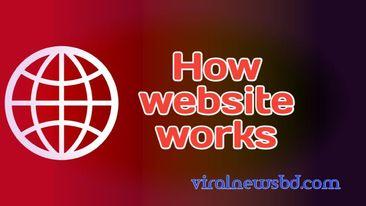 How website works in details.