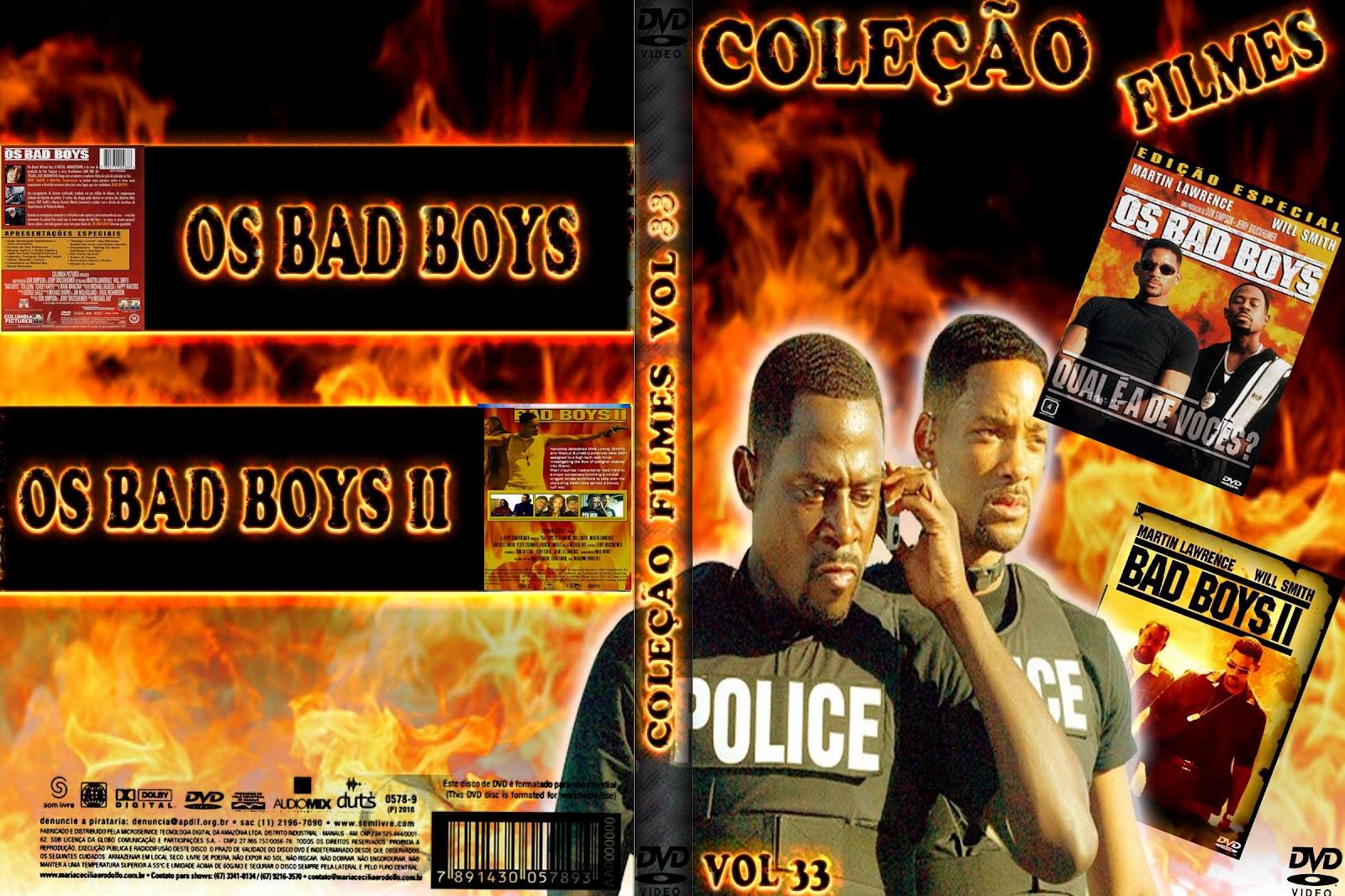 Baixar Coleção Os Bad Boys DVDRip XviD Dual Audio