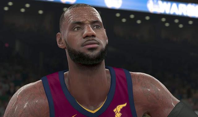 إستعراض بالفيديو للتقنيات الجديدة في رسومات لعبة NBA 2K18
