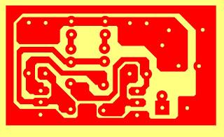 Membuat Lampu LED Flasher 4 Buah dengan Transitor
