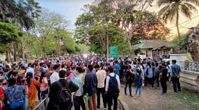 Students Protest makes changes in Gauhati University Exam sechdule for the Post graduate students