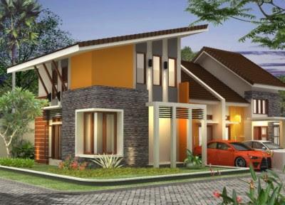 desain rumah minimalis modern 2 lantai hook
