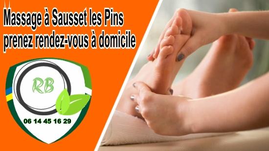 Massage à Sausset les Pins, prenez rendez-vous à domicile;