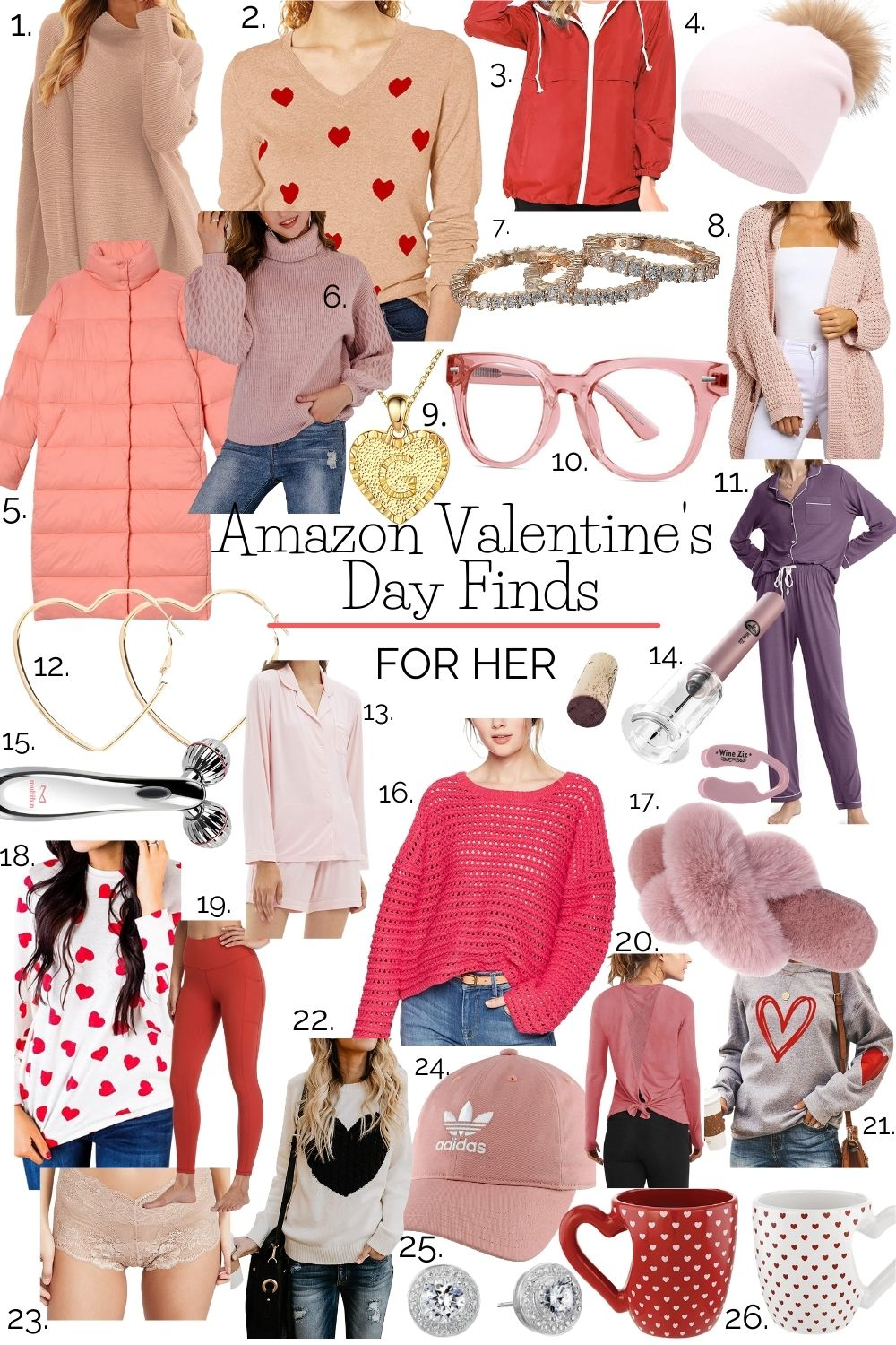 Amazon Valentine's Day Favorites for Her (or You!)