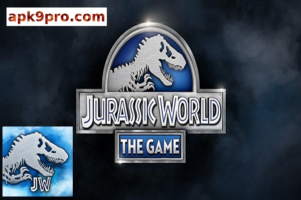 Jurassic World The Game v1.45.1 Apk File size 35 MB for android