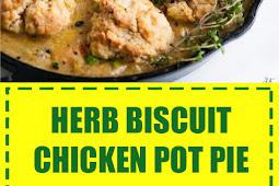 Herb Biscuit Chicken Pot Pie
