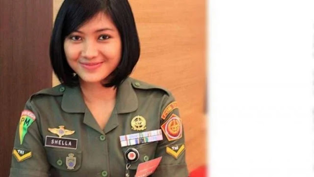Jadi Sorotan, Tentara Cantik Ajudan Gatot Nurmantyo Ternyata Model TNI