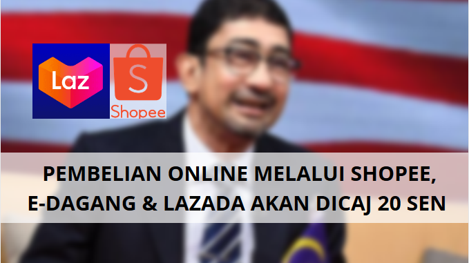 Pembelian Online Akan Dikenakan Caj 20 sen Kata Kementerian Komunikasi Dan Multimedia Malaysia (KKMM)