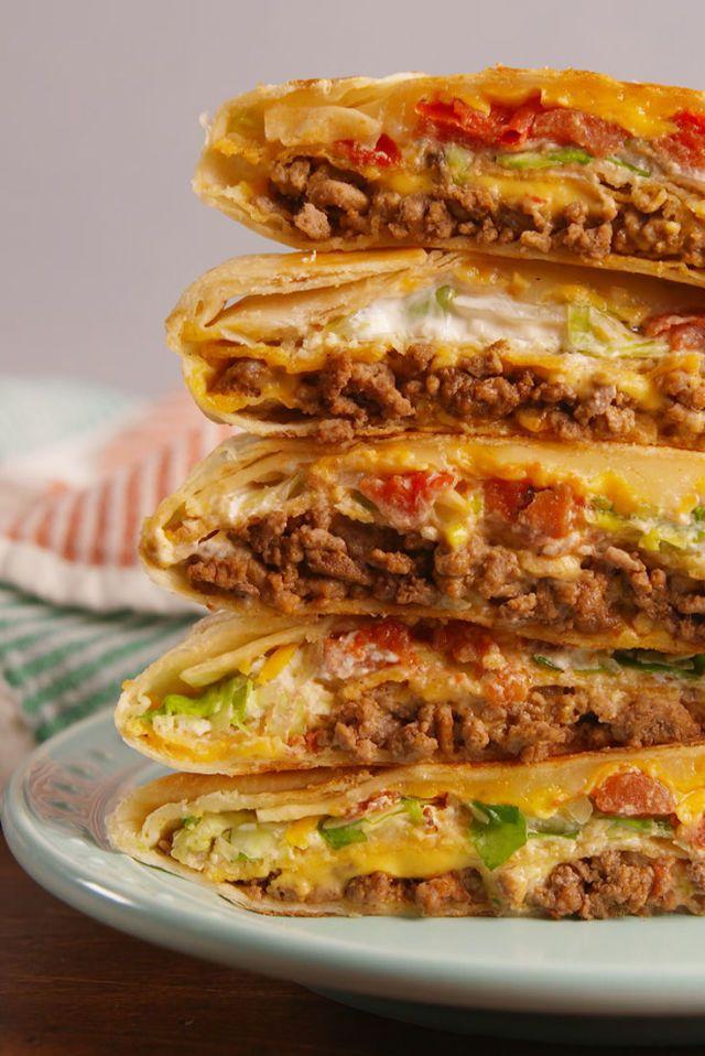 Taco Bell Crunchwrap Supreme Copycat Recipes