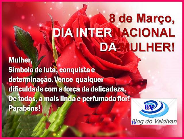 """A homenagem do Blog pelo """"Dia Internacional da Mulher"""""""