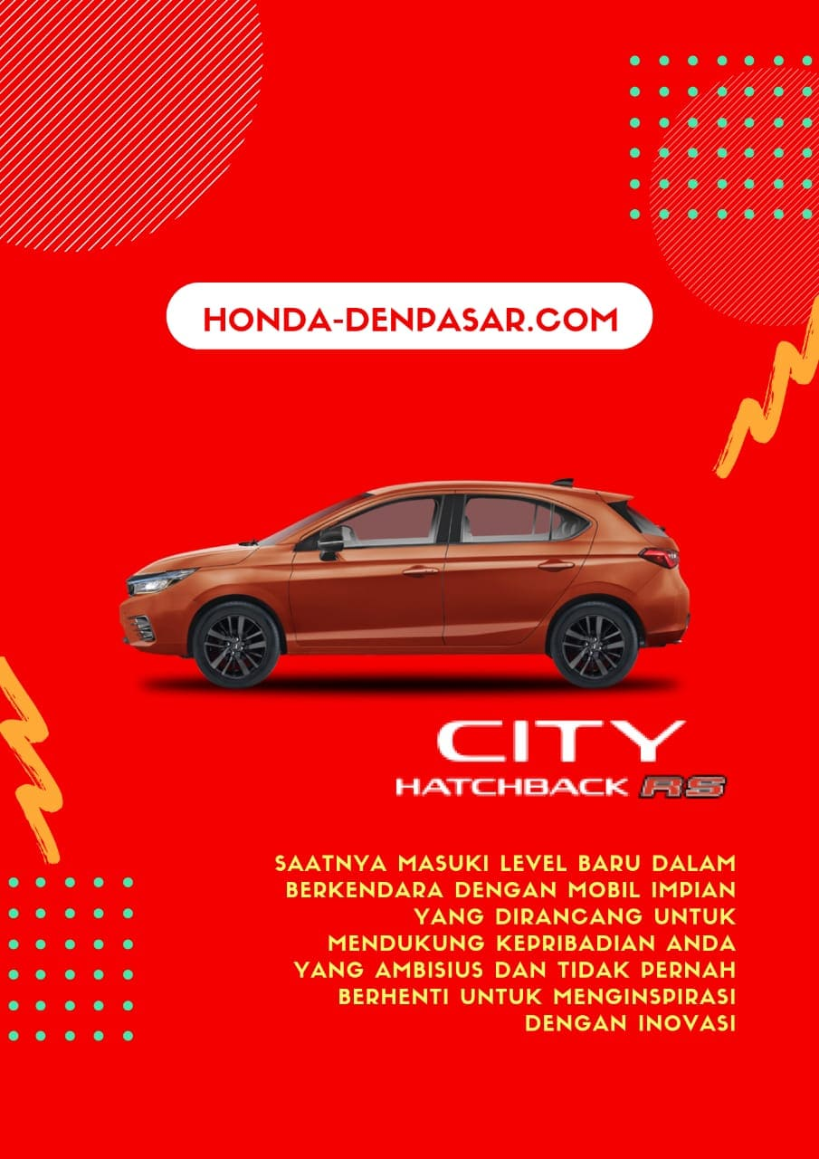 Honda City Hatchback RS, Harga Honda City Hatchback RS Bali, Promo Honda City Hatchback RS Bali