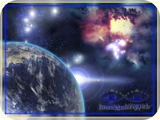Piękno-wszechświata-Planeta-Mgławica-Przestrzeń-Kosmiczna