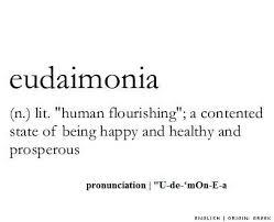 The Bio-Pro Spoken Eudaemonia Programme