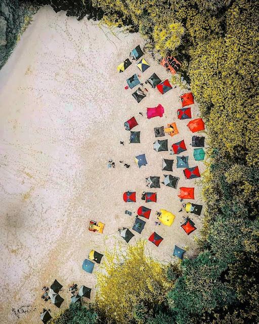 pantai sedahan camping