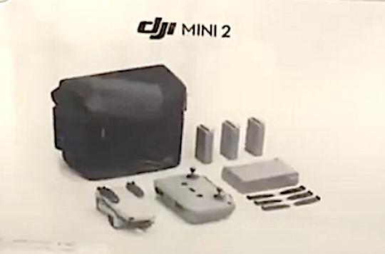 Изображение с коробки DJI Mini 2