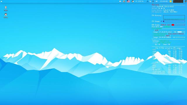 Arch XFerience Linux Desktop