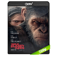 La guerra del planeta de los simios (2017) HC HDRip 720p Audio Ingles 2.0 Subtitulada