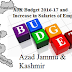 AJK Budget 2016-17 and Increase in Salaries of Employees