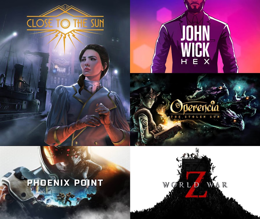 epic mega sale games summer 2019 close to the sun john wick hex operencia: the stolen sun phoenix point world war z