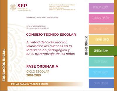 CTE Quinta Sesión Educación Inicial- Evaluación de los Aprendizajes