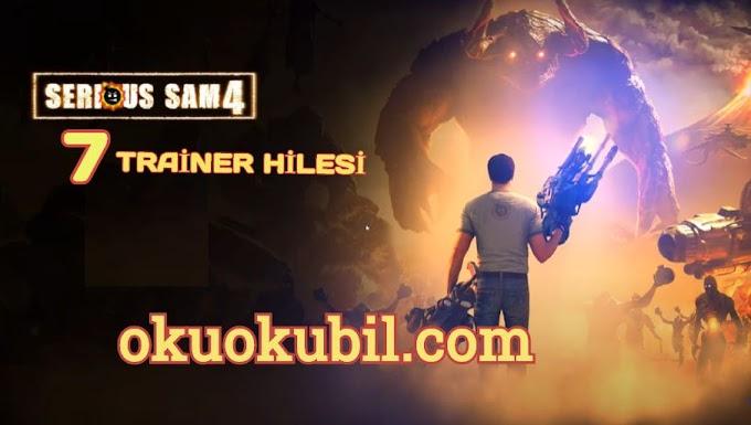 Serious Sam 4 Trainer +7 Sınırsız Beceri Puanı, Kalkan, Cephane Hileli İndir 2020
