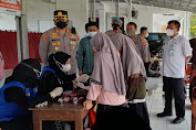 Camat Mekar Baru Dampingi Kapolresta Tangerang Tinjau Vaksinasi di Ponpes Al Magfiroh