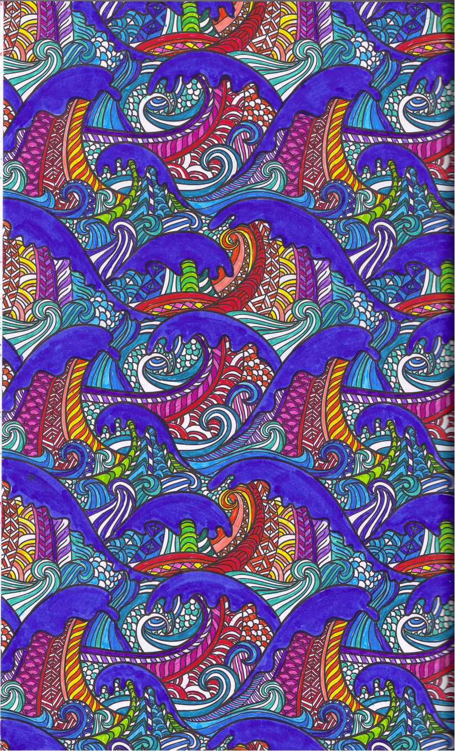 Voorbeelden Van Kleurplaten Voor Volwassenen.Kleurboek Voor Volwassenen