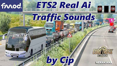 ETS2 Real Ai Traffic FMOD Sounds 1.39