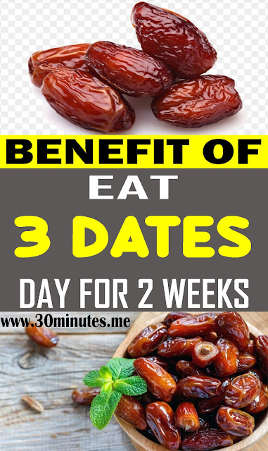 Eat 3 Dates a Day for 2 Weeks – Here's Why!