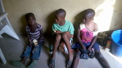 Photos: Danish aid worker, Anja Ringgren Loven and her team rescue 3 children accused of killing their parents through witchcraft in Akwa Ibom