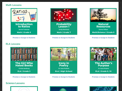 A Great Resource of EdTech Lessons to Use in Your Teaching