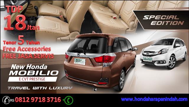 Promo Honda Mobilio Bekasi DP Super Ringan