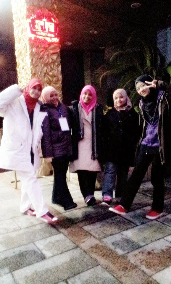 dijah, maisarah, adkdayah, amirah, atiq, starway hotel west hill, u3p, giso, guilin china, usim