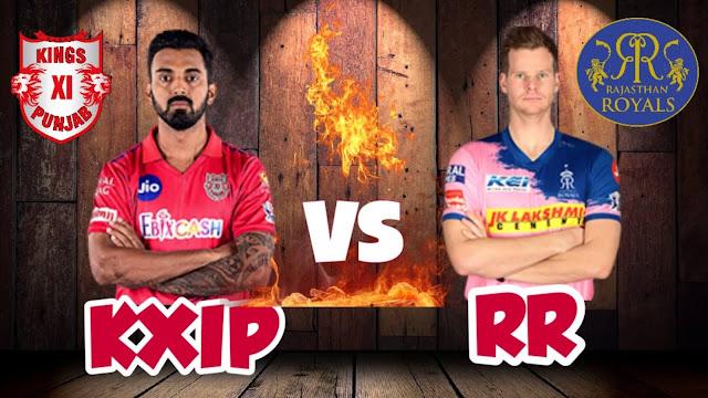 KXIP VS RR Dream 11 Match 50 30 Oct 100% The Dream Team Winning Prediction IPL 2020
